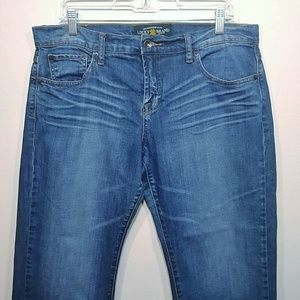 Lucky Brand Easy Rider Crop Size 14/32